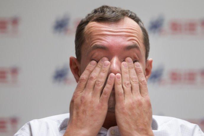 Foto N – Vladimír Šimíček Radoslav Procházka má za sebou turbulentný rok. Nevyšiel mu ani Luxemburg.
