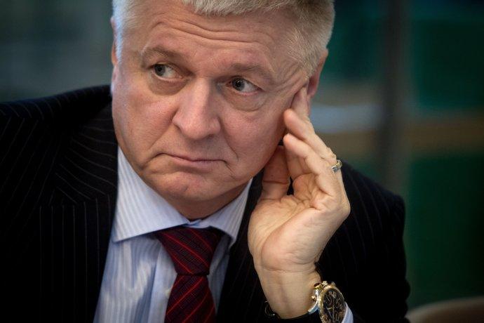 Minister Pavol Pavlis. Foto N - Vladimír Šimíček