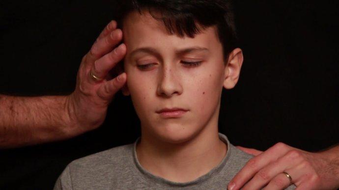 Záber z videa. Reprofoto - Denník N