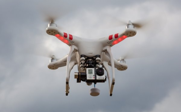 Najčastejším dronom využívaným podnikateľmi je multikoptéra. Foto - UpVision