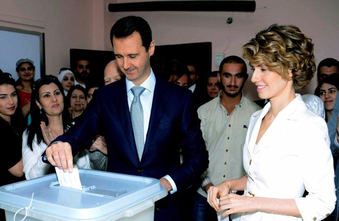 Bašar Asad sa nechal vlani znovu zvoliť za prezidenta. Zodpovedať sa za vojnové zločiny nemusí. FOTO - TASR