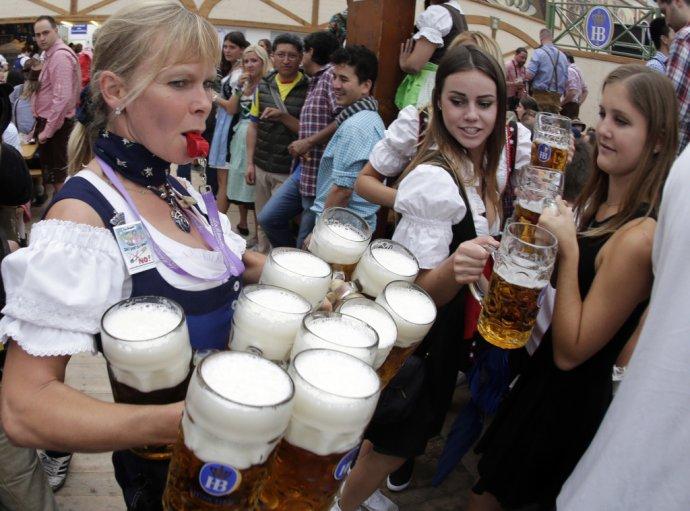 Pivo je podľa čínskych vedcov prospešné pre mozog. FOTO - TASR