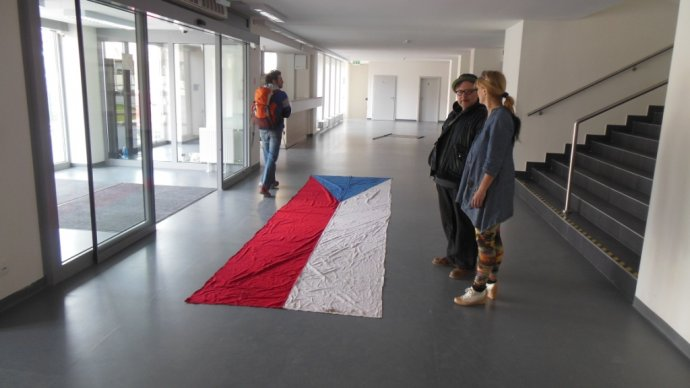 Dielo Dalibora Baču: CZ_SK_HU_D_PL_ v košickej Kunsthalle.