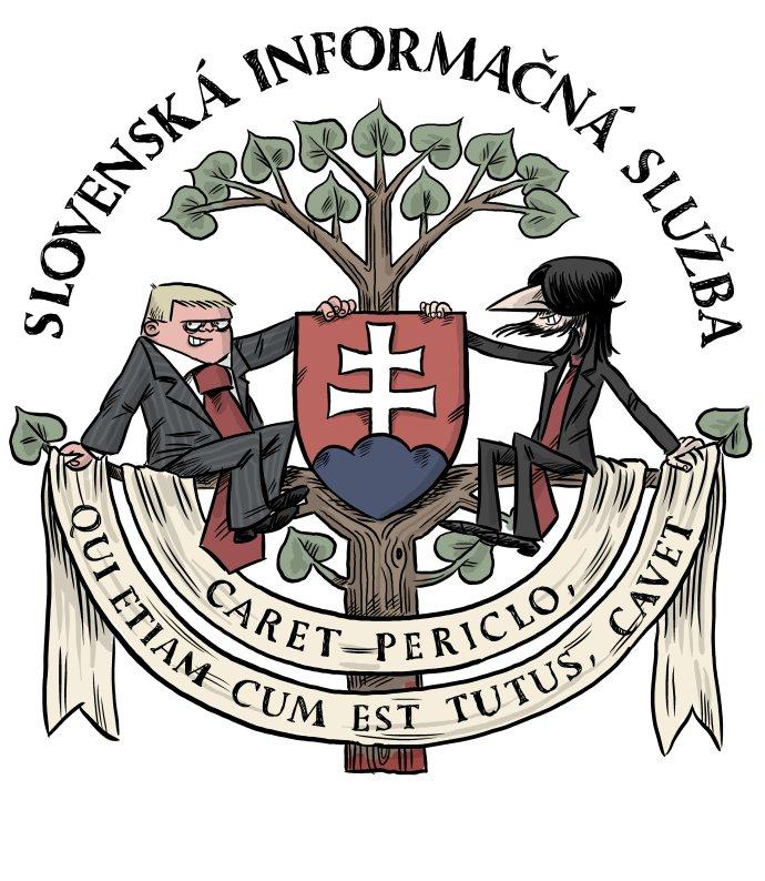 Znak SIS. Kresba – Shooty