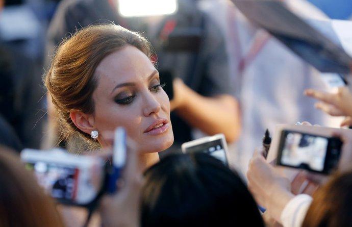 Po prsníkoch si Angelina Jolie nechala odstrániť aj vaječníky. A opäť o tom prehovorila aj verejne. Foto – TASR/AP