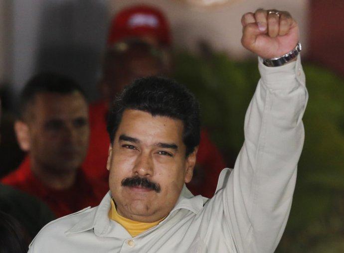 Nicolás Maduro: Za všetkým hľadaj USA. FOTO - TASR/AP