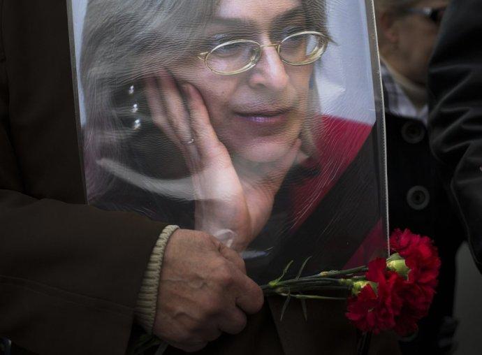 Zavraždená ruská novinárka Anna Politkovská. Foto – TASR/AP
