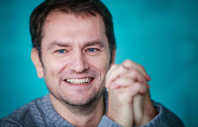 Igor Matovič počas rozhovoru pre Denník N. Foto N - Tomáš Benedikovič