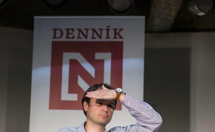 Riaditeľ vydavateľstva N Press Lukáš Fila. Foto N - Tomáš Benedikovič