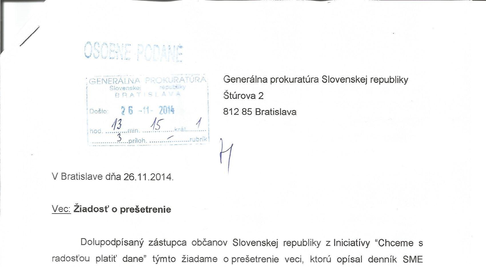 Pociatkove Palivove Karty Odpoved Kriminalnej Policie Dennik N