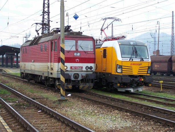 Súboj so Železničnou spoločnosťou Slovensko zatiaľ RegioJet vyhráva na body. Konkurenčné vlaky InterCity mu štát odstráni z cesty. Foto - TASR