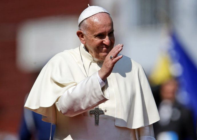 Pápež František. Foto - TASR/AP