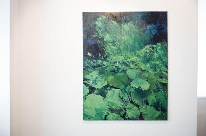 Výstava obrazov Rasťa Podobu v Stredoslovenskej galérii v Banskej Bystrici. Foto N – Tomáš Benedikovič