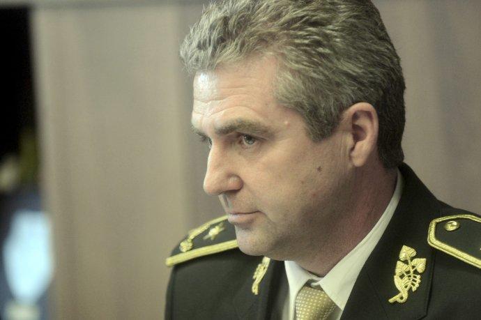 Policajný prezident Tibor Gašpar. Foto – TASR