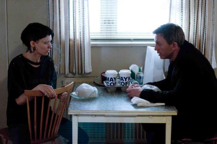 Lisbeth Salanderová a Mikael Blomkvist ako Rooney Mara a Daniel Craig v hollywodskej verzii. FOTO - SONY PICTURES