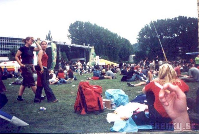 Pohoda 2002. Foto - frenky.sk