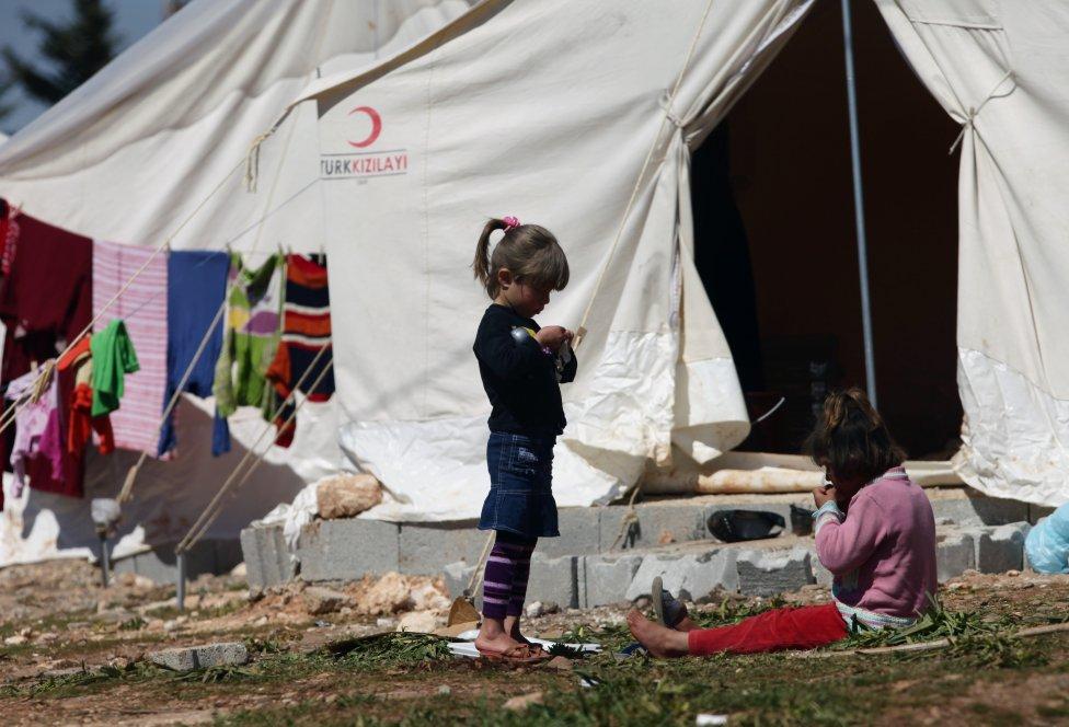 Najviac utečencov je v Turecku. FOTO - TASR/AP