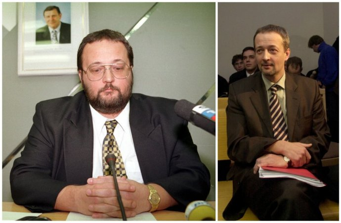 Ivan Lexa, šéf SIS, ktorý stál podľa obžaloby za únosom, v roku 1996 a potom v roku 2003 po návrate z Južnej Afriky, kam utiekol. Foto - TASR