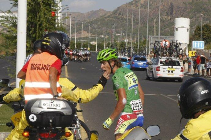 Sagan si za hnev na motorkára vyslúžil pokutu 300 eur. Foto: cyclismoafondo.es