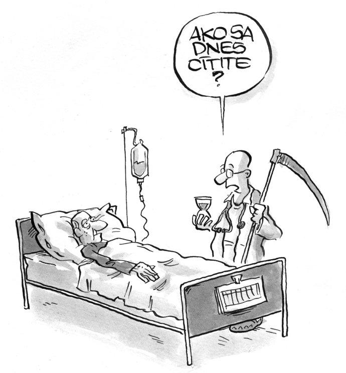 Karikatúra z knihy Investovanie z nadhľadu - Shooty