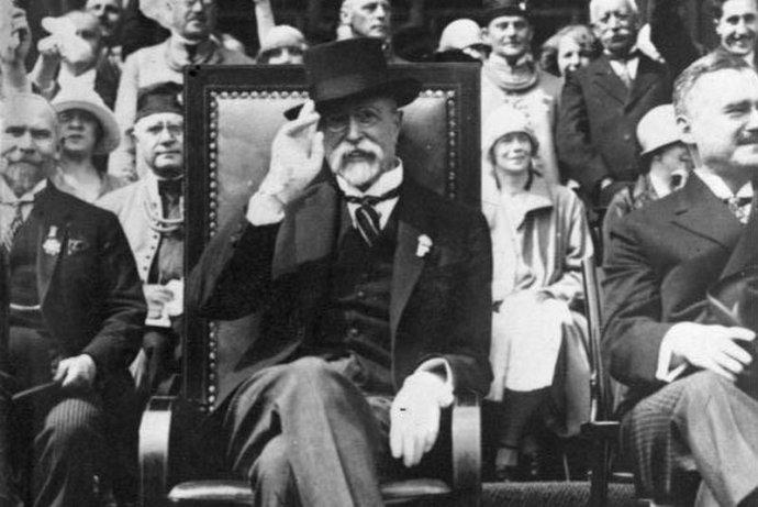 """Už Masaryk nás učil, že """"demokracia je diskusia"""". Foto - Wikimedia/CC"""