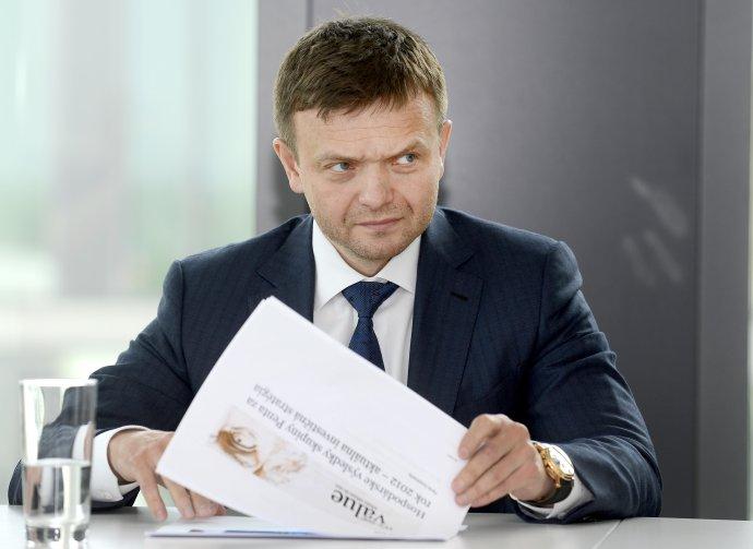 Partner finančnej skupiny Penta Jaroslav Haščák. Foto - TASR