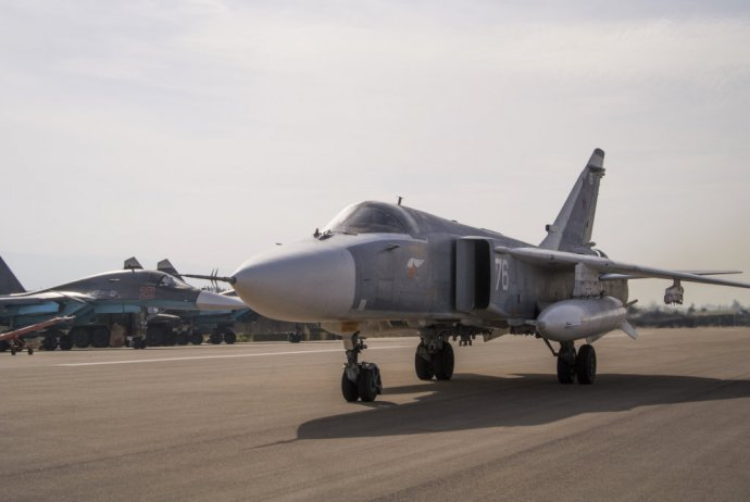 Ruský bombardér Su-24. Foto – AP