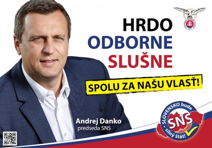 Bilbórdy už nestačia. Strana Andreja Danka skúša robiť kampane medzi ľuďmi.