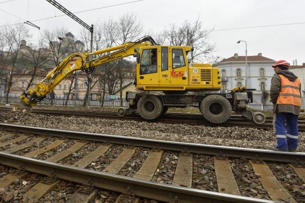 Modernizácia trate. Ilustračné foto - TASR