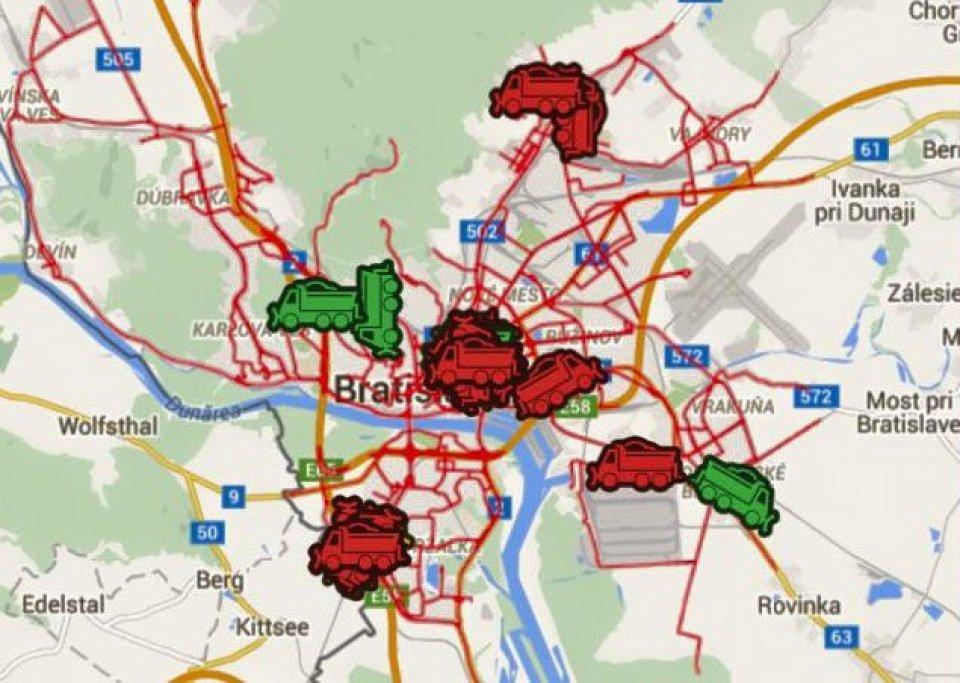 Bratislava Mohla Mat Mapu Vsetkych Spojov Mhd No Ma Mapu