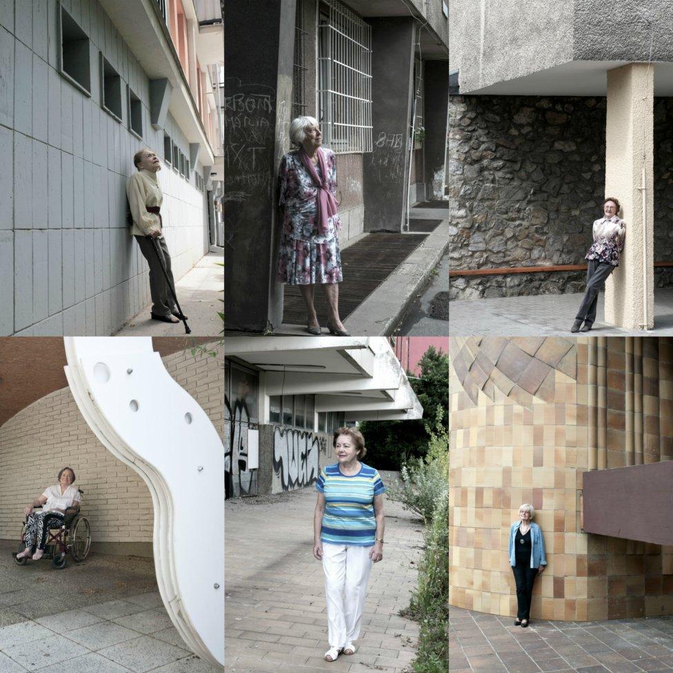 Prvú generáciu architektiek predstavuje výstava Emancipované. Nájdete ju vo foyer FA STU v Bratislave. Foto - Olja Triaška Stefanovič.