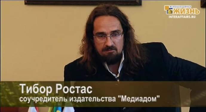 Tibor Rostás v Moskve.