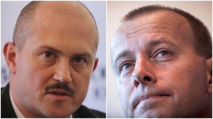 Marian Kotleba a Boris Kollár. Foto N – Tomáš Benedikovič a TASR