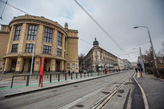 Nová Štúrova ulica. Foto N - Matej Dufovič