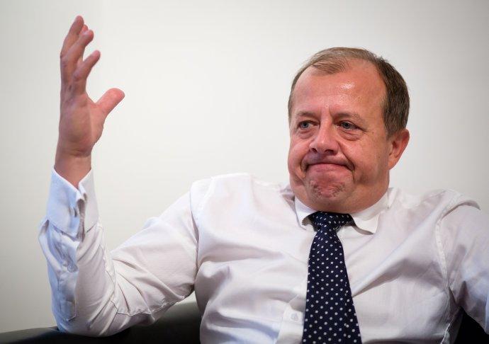 Richard Rybníček. Fotografia vznikla počas rozhovoru v októbri 2015. Foto N - Tomáš Benedikovič