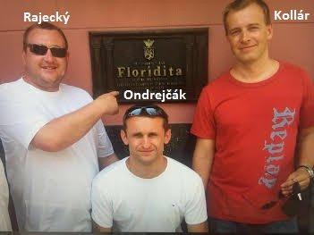 Boris Kollár s Piťom a podnikateľom Tomášom Rajeckým. Z poskytovania takýchto fotiek médiám upodozrieval Kollár Kočnera