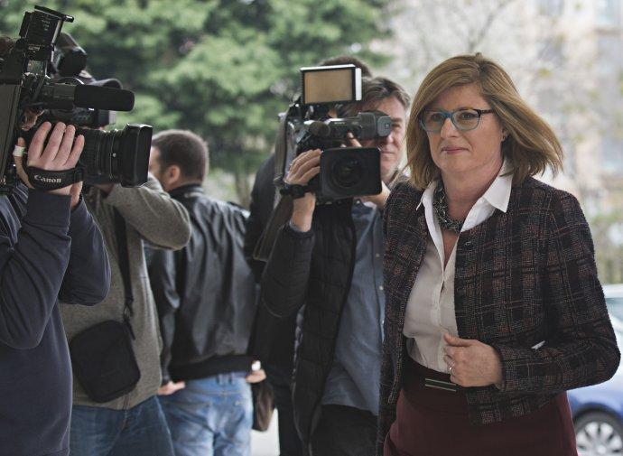 Ministerka pôdohospodárstva Gabriela Matečná šéfovala pozemkovému fondu za druhej vlády Smeru. Foto - TASR