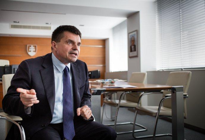 Minister školstva Peter Plavčan. Foto N – Tomáš Benedikovič
