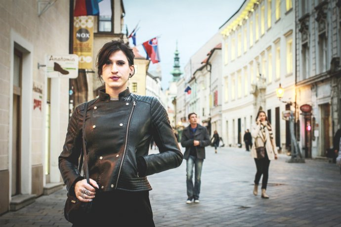 Matúš Lenický (31) sa nehanbí za to, že je trans. Foto N - Laura Pecíková