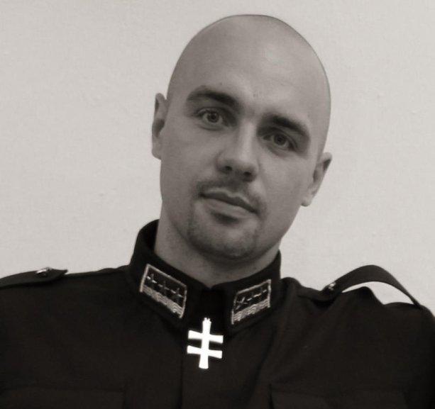 Andrej Medvecký, Kotlebov skoro-poslanec parlamentu. Foto - Facebook A. Medveckého