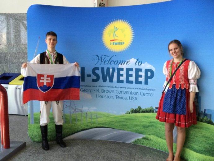 Z olympiády I-SWEEEP. Foto – Feretová a Smoter