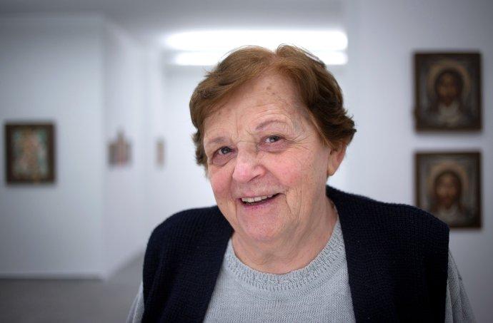 Reštaurátorka Dorota Filová (1936 - 2021). Foto N – Tomáš Benedikovič