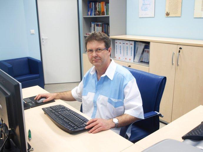 Gastroenterológ Jozef Klucho. Foto – archív J. K.