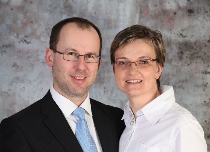 Viera Krajčovičová s manželom. Foto – archív VK