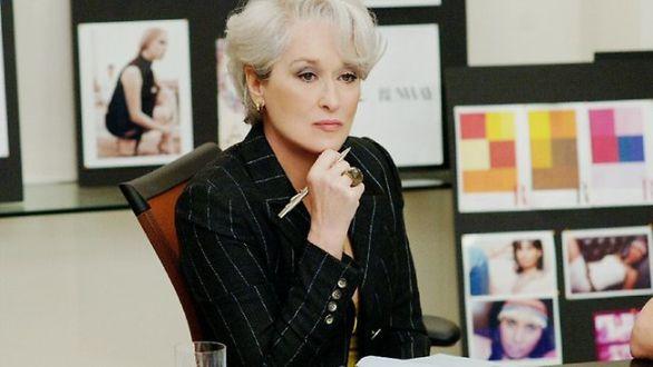 68da1da43e9c Meryl Streep vo filme Diabol nosí Pradu