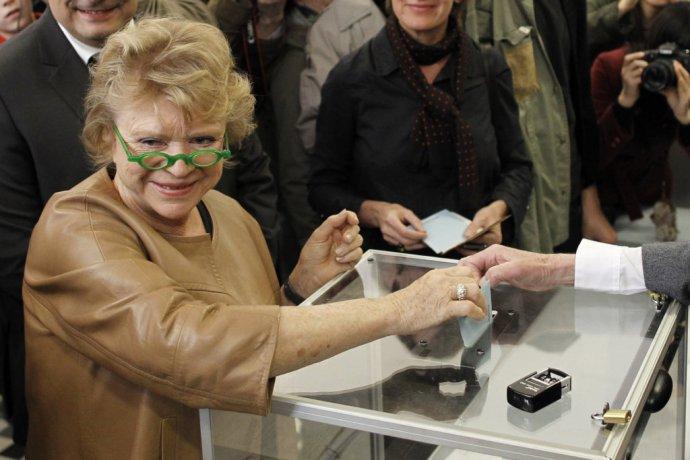 Eva Joly je vo Francúzsku slávna ako bojovníčka proti korupcii, v prezidentských voľbách ale veľmi neuspela. FOTO - TASR/AP