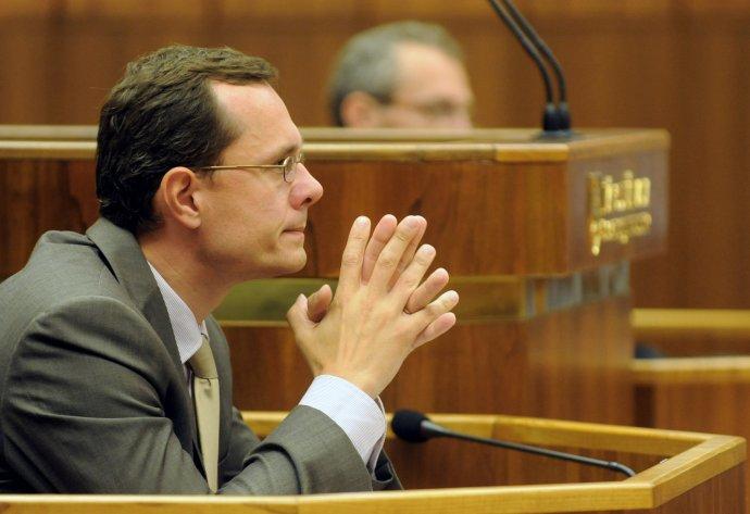 Do parlamentu vstúpil v roku 2010, stal sa predsedom ústavnoprávneho výboru. foto - TASR