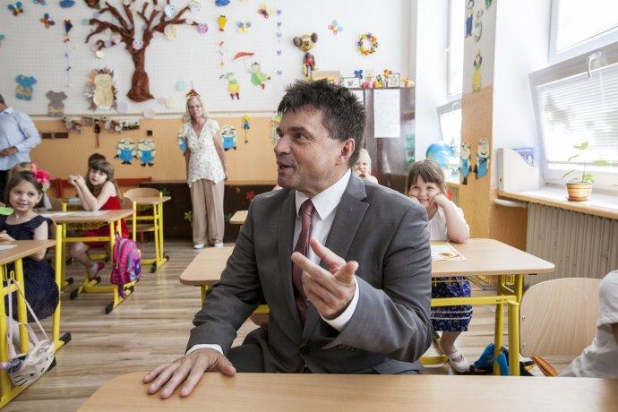 Minister školstva Peter Plavčan. Foto – TASR