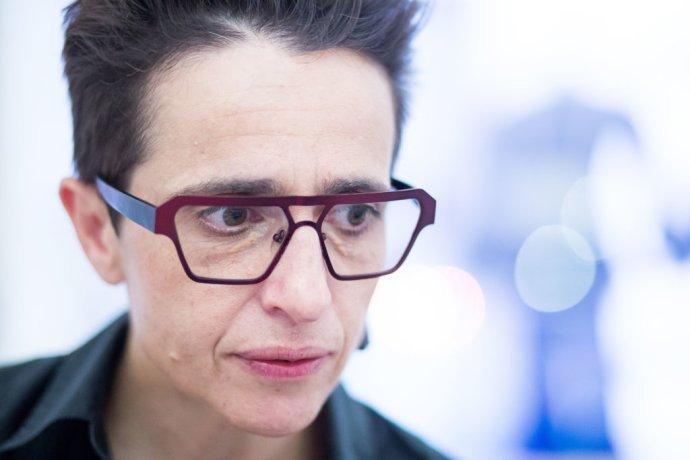 Ruská novinárka Masha Gessen. Foto N – Vladimír Šimíček