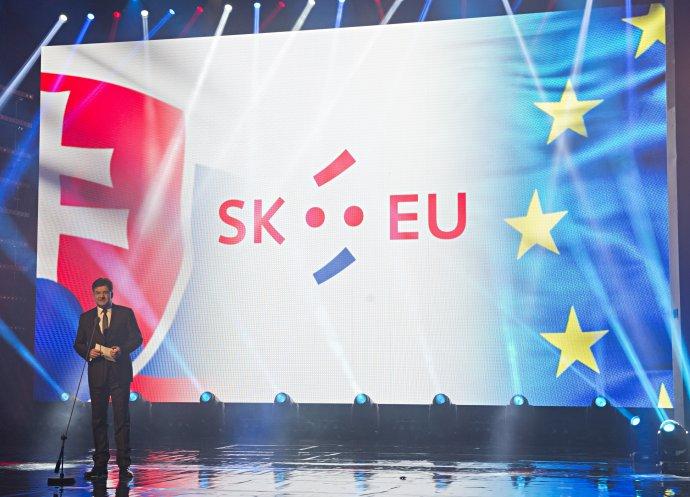 Galavečer k predstaveniu loga slovenského predsedníctva. Foto – TASR